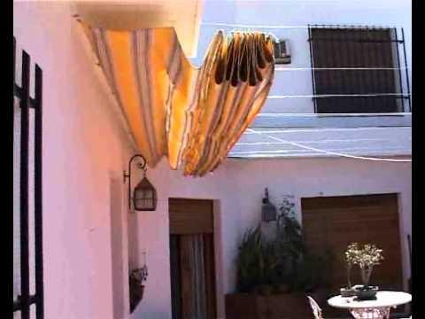 Toldo corredizo de patio fernando garutti en obras 14 11 for Toldos para patios