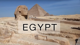 Aerial Tour of Pyramids of Giza in Egypt