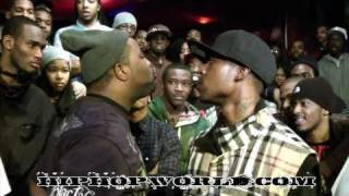 BLOOD ON THE SHOES : P.G Skillet Vs Tay Roc Part 1: Pit