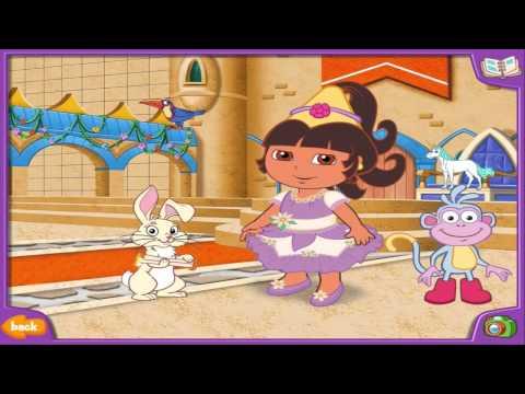 Dora the Explorer   Doras Dress Up Adventures NEW Full Game 2014