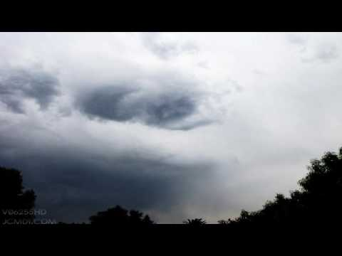 V06255 Thunderstorm breaking up HD timelapse