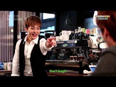 [ENG SUB] 2013 SBS Gayo Daejun Drama Parody Xiuhan cuts (NG + Skit)