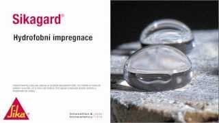Hydrofobní impregnace - Sikagard
