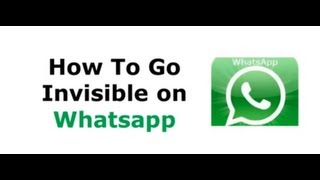 How To Hide On Whatsapp