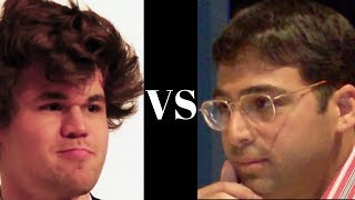 Chess - Game 10 Magnus Carlsen vs Vishy Anand