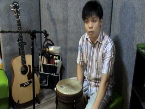 Funk Slow Rock Djembe - Contemporary Djembe 1.09 Intermediate rhythm 3