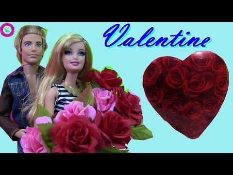 Cuộc Sống Búp Bê Barbie & Ken (tập 20) Ngày valentine Của Barbie - Barbie's Valentine Day Chocolate
