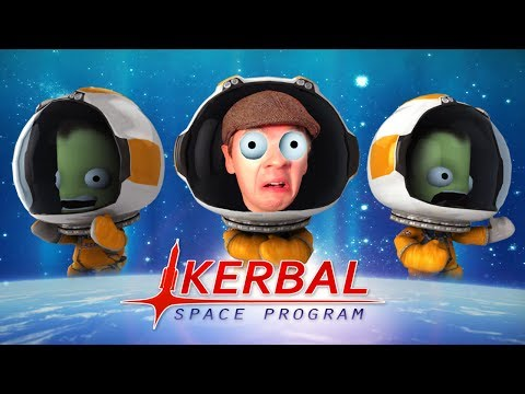 Kerbal Space Program - Part 1 | I'M AN ASTRONAUT!!