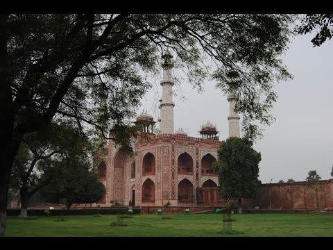 Agra-India-Mausoleo de Akbar-H D
