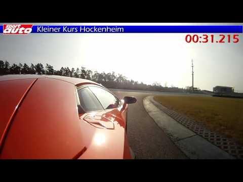 Aventador TOP SPEED 370 km/h & Hockenheim Lap Test sport auto New Lamborghini LP 700-4