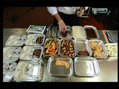 Ako sa to rob� - Jedlo v lietadle