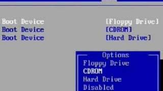 BIOS: Boot Priorität Einstellen
