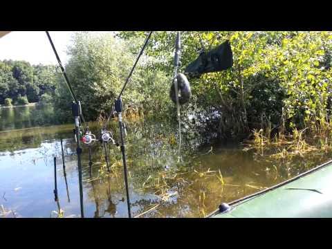 Lov kapra z nafukovacieho člna