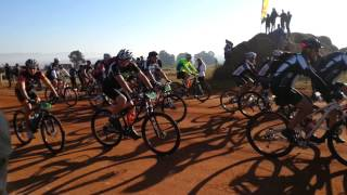 Start of the Joburg to Sea (Joburg2C) Mountain Bike Race