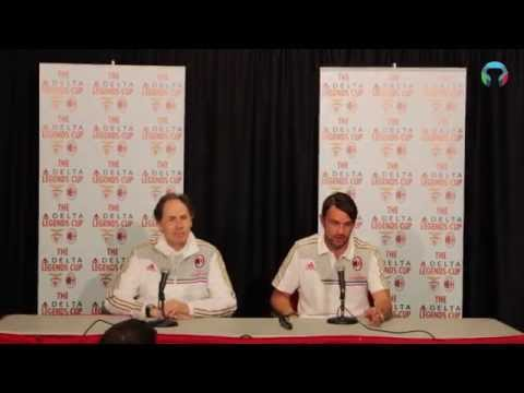 Paolo Maldini & Franco Baresi Press Conference in English & Italian (Toronto)