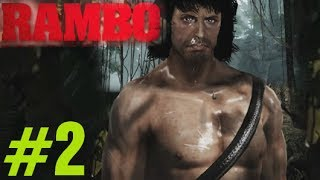Rambo The Video Game Walkthrough Chapter 2 (1985) Rambo