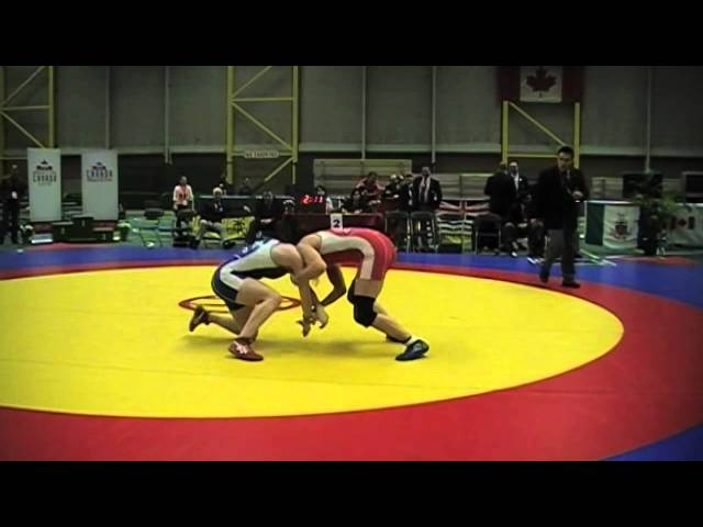 2014 Senior National Championships: 53 kg Final Brittanee Laverdure vs. Sam Stewart
