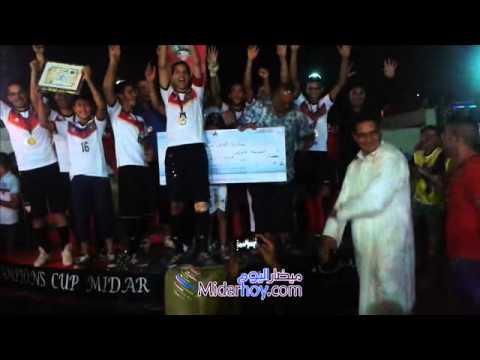 تتويج فريق اتحاد ميضار بدوري أبطال الريف 2014