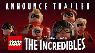 LEGO The Incredibles - Bejelentés Trailer