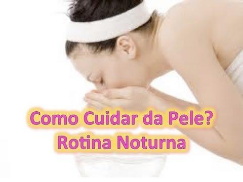 Passo a Passo:Como cuidar da pele do rosto em casa?!Limpeza Noturna