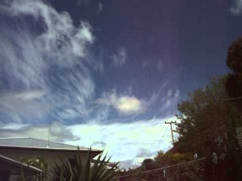 Contrast between regular and engineered clouds [Geo-engineering Northland New Zealand]
