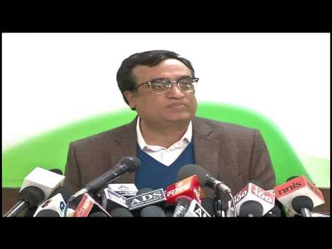 AICC Press Briefing by Ajay Maken on February 3, 2014