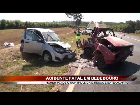 09/07/2018 - Homem de 63 perde a vida em acidente registrado na Rodovia Comendador Pedro Monteleone em Bebedouro