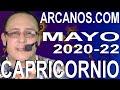 Video Horóscopo Semanal CAPRICORNIO  del 24 al 30 Mayo 2020 (Semana 2020-22) (Lectura del Tarot)