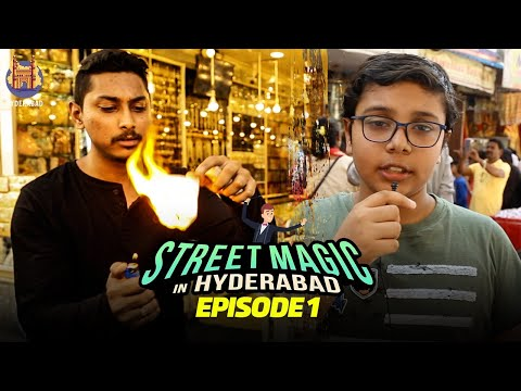 Street Magic In Hyderabad | Ep 1 | Best Street Magic Tricks With Magician Rahul | Charminar
