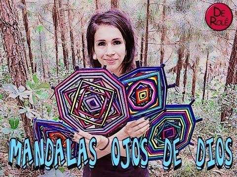 Mandalas Ojos de Dios
