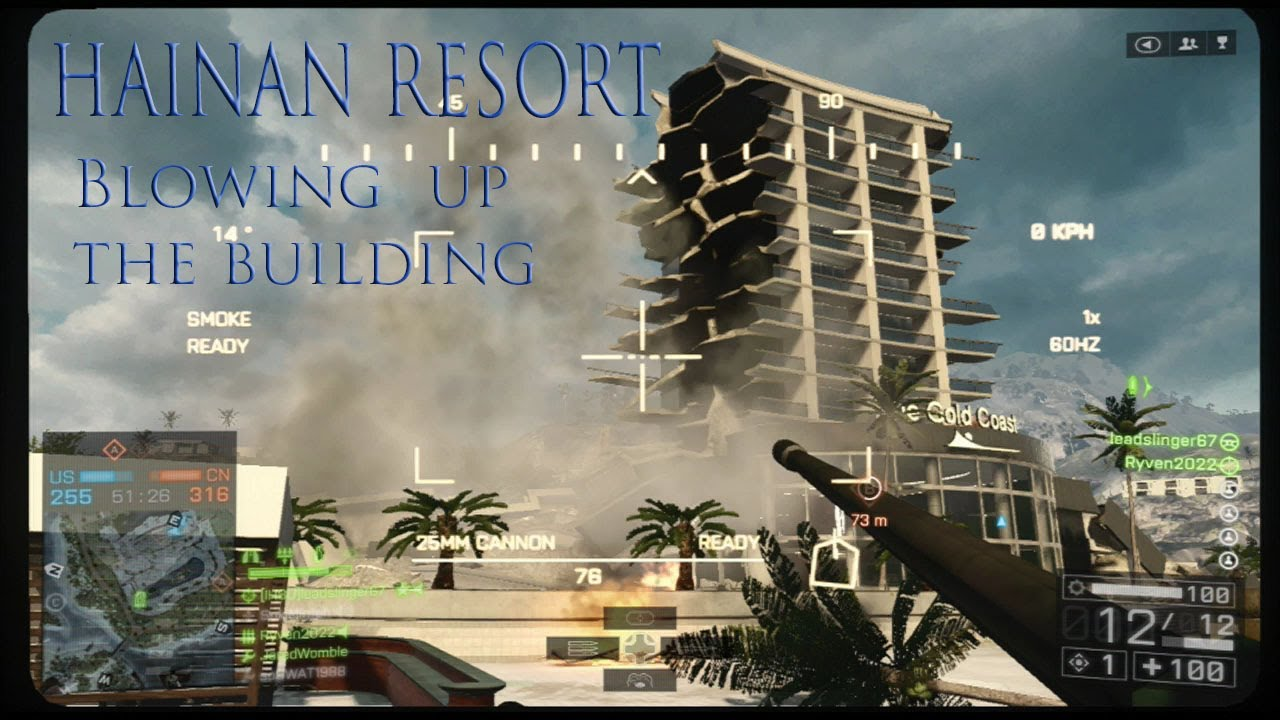 Building Blowing Up : Hainan resort blowing up the building youtube