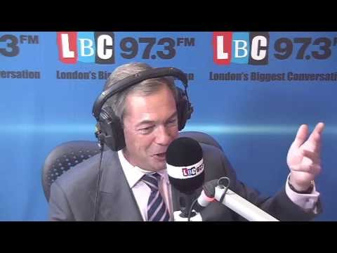 Nigel Farage: Live On LBC 97.3