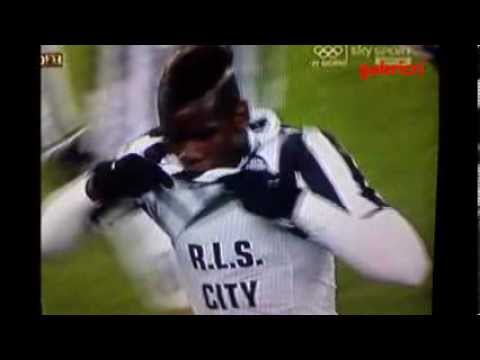 Juventus Sampdoria 4 2 Pogba la maglia del goal - Pogba best goal