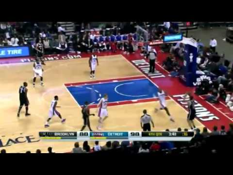 Brooklyn Nets vs Detroit Pistons   December 13  2013   Full Game Highlights   NBA 2013 14 Season