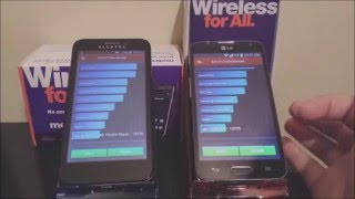 MetroPCS LG Optimus L70 VS Alcatel OneTouch Fierce
