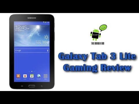 Galaxy Tab 3 Lite Gaming Review