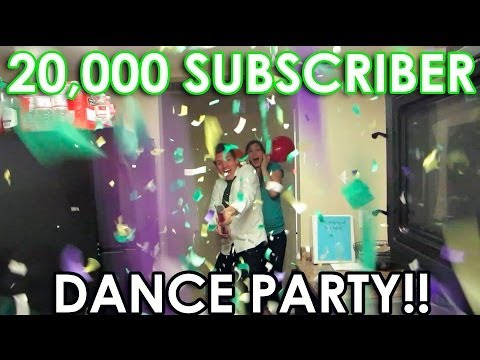 20,000 SUBS DANCE PARTY!! (DAY - 147)