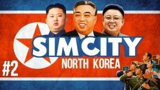 SimCity: North Korea - GODZILLA ATTACKS! w/ The Derp Crew - Ep. 2