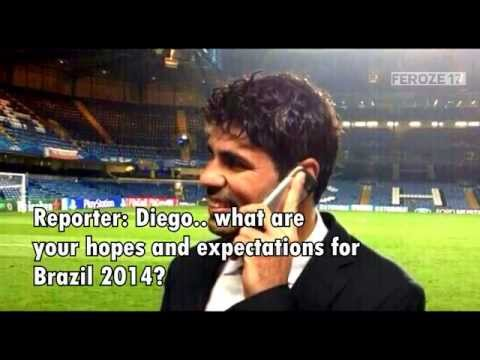 "Diego Costa: ""Am I going to Chelsea? It looks like it"" (English Subtitles)"
