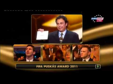 Neymar Jr - Win FIFA goal of the year - 2011