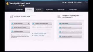 TuneUp Utilities 2014 Download + Crack