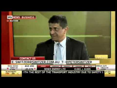 Switzer Interview with Mathew Cherian, CEO of Global Health 7th May 2014