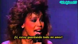 "Whitney Houston ""Saving All My Love For You"" Grammys 1986"