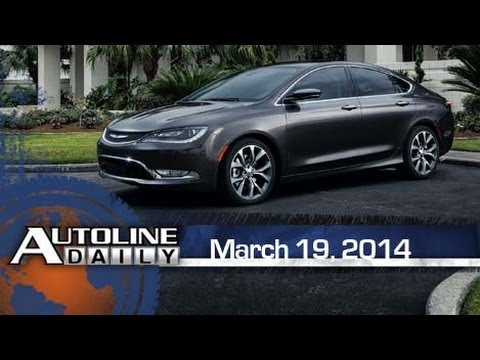 First Drive: 2015 Chrysler 200 - Autoline Daily 1337