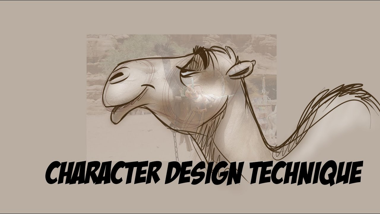 Simple Character Design Tutorial : Cartoon character design tutorial easy technique youtube
