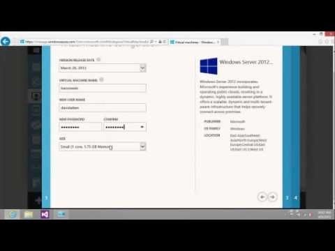 Getting Started with Windows Azure Virtual Machines and Virtual Networks - EPC Group
