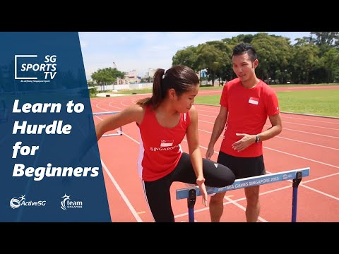 Learn to hurdle for beginners | ActiveSG Athletics 101