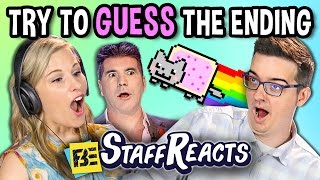 TRY TO GUESS THE ENDING CHALLENGE! (ft. FBE Staff)