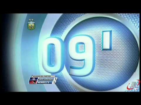 GOLES San Lorenzo 3 - Newell's 2 (1920 x 1080 FULL HD) (27-05-2012) FECHA 16