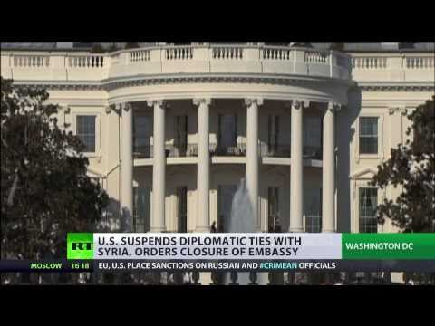 Mission Accomplished? US shuts down Syrian embassy, orders diplomats out